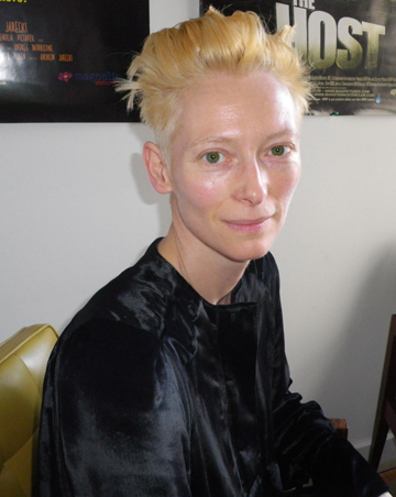 Tilda Swinton Gets A Haircut I Am Love Gossip Central