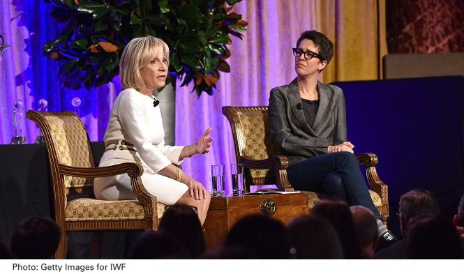 Andrea Mitchell Rachel Maddow